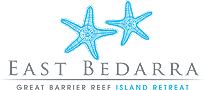 Blue Starfish East Bedarra Island Retreat logo - click to return to home page.